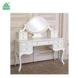 White Color Modern Style Bedroom Furniture Dresser with Mirror