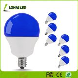Hot Selling G14 5W LED Blue Light Bulb 40W Equivalent with E12 for Decoration