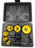 Bi-Metal 9PCS Hole Saw Kit with Blow Box