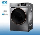 Dd Motor Drive 10kg Home Use LED Display Front Loading Laundry Washing Machine