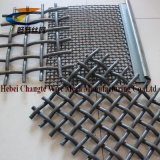 High Carbon Steel Crimped Woven Wire Mesh / Vibrating Screen Mesh / Mining Screen Mesh