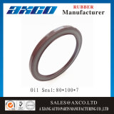 Oil Seals Rubber Products 80*100*7