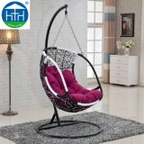 Cheap Outdoor Garden Furniture Swinging Chair with Cushion