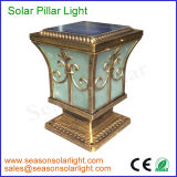 Factory Wholesale 5W Solar Panel Solar Fence Light with LED Lighting Lamp for Gate Lighting