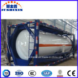China 40/20feet T11/T14 HCl / Sulphic / Alcohol / Hydrofludric / Nacl/Naclo Acid ISO Tank Container with ASME / BV / Llords Certificates