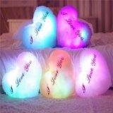 LED Glowing Stuffed Plush Pillow Cushion Baby Toy