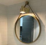 Luxury Hotel Mirror Decoration Stainless Steel Metal Frame