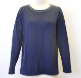 Casual Women Round Neck Pullover Knitwear