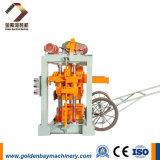 Qtj4-40 Manual Cheap Concrete Interlocking Block Building Making Machine