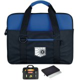 Custom Eco-Friendly Canvas Messenger Laptop Bag with Removable Strap
