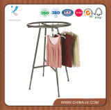Boutique Round Apparel Rack for Supermarket