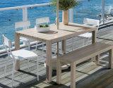 Wooden Dining Table Patio Chair Garden Outdoor Restaurant Furniture