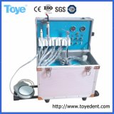 Simple and Convenient Portable Dental Unit with 3-Way Syringe