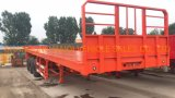 40FT 3 Axle Flatbed Container Semi Trailer