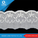 2016 Fashion Wholesale Polyester White Tc Lace Fabric for Decoration