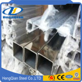 SUS 201 202 Stainless Steel Bright Square Tube / Pipe