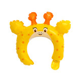 Reusable Funny Foil Balloon Head Hoop for Children Kindergarten Game