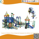 Commercial Outdoor Plastic Playground Equipment for Children Amusement Park