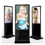 55 Inch Floor Stand Commercial Screen Indoor Equipment Advertising LCD Display