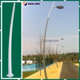 Aluminum Alloy Curved Lamp Pole with Laser Cutting Door Hatch
