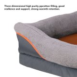 Orthopedic Memory Foam Dog Bed Srong Material Easy to Wash Removable Cover with Anti-Slip Bottom Waterproof Liner