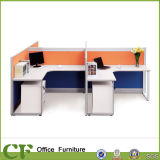 4 Seater Office Partition with Powder Coated Leg CD-88803