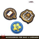 Fashion Bag Customized Raised PVC Label Custom Logo