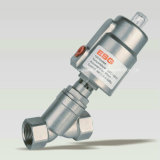 100 Series Pneumatic Angle Seat Valve