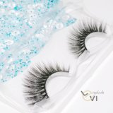 Cheapest Price Faux Mink Eyelashes Strip Synthetic Hair Individual Eyelashes.