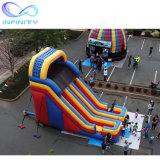 Funny Double Lane Inflatablw Slide Inflatable Bouncy Castle Water Slide with Price