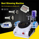 Portable Cryolipolysis Body Slimming Machine with Lipo Laser and RF & Cavitation Heads Freeze Fat