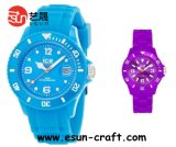 High Grade Silicone Watch with Tube and Kinds of Colors in Stock (SW025)