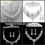 Bridal Accessories Jewellery Crystals Wedding Necklace Earings Crown Tiara Sv1021