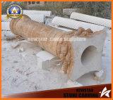 Hollow Stone Pillar Granite Roman Column Building Material