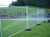 Galvanized Barrier Temporary Fence Panel