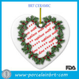 Heart Shaped Wreath Christmas Funia Photo Frame