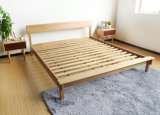 Solid Wooden Bed Modern Double Beds (M-X2241)