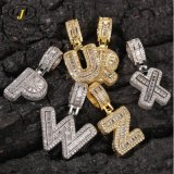 18K Gold Jewelry Hip Hop Letter Pendants Necklace Fashion Jewelry