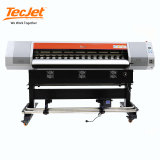 Tecjet Inkjet Digital LED 3D Emboss Roll to Roll Printer Logo Clear Film Printing Machine Price