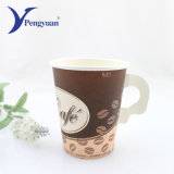 Cheap Single Wall Cup Water Paper Cup with Handle