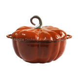 Pumpkin Shape Cast Iron Enamel Cookware