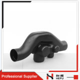 HDPE Drainage Pipe Fittings HDPE Syphon Sovent for Sewer Pipes