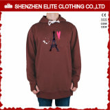 Custom Design Polyester Fleece Screen Printing Hoodie Sweatshirt (ELTHSJ-959)