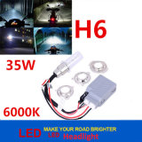 Error Canceller Super Bright 35W 6000k Slim Ballast H6 Motorcycle Xenon HID Kit