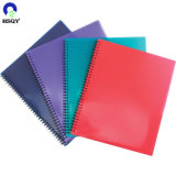 Colorful Plastic Cover Transparent Binding Cover Plastic PVC Cover for Book Material Protecting