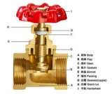 Brass Stop Valve with Non-Return Function
