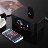 Bluetooth Docking Station Clock with Snooze Sleep Function