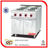 Electric Range Stove with 4 Burners Floor Stove with Cabinet Price