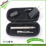 China Factory Ocitytimes Wholesale Evod Twist Starter Kit / Evod Starter Kit with Dual Coil Atomizer