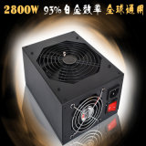 Factory Wholesale 2400W Mining Machine Power Supply Sever Power Supply